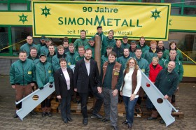 Das SIMONMETALL-Team in 2009