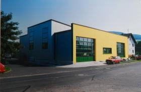 1995 Erweiterung um Halle 4