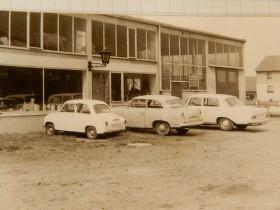 1964 - Die Anfänge der Werkstatt in der Mühlwiesenstraße