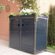 Umhausungen / Mülltonnenboxen 06387