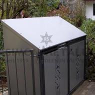 Umhausungen / Mülltonnenboxen 07154