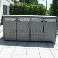 Umhausungen / Mülltonnenboxen 12340