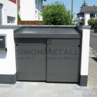 Umhausungen / Mülltonnenboxen 13015