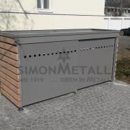 Umhausungen / Mülltonnenboxen 13353