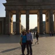 Am nächsten Tag machen wir uns auf den Weg zum Reichstag...