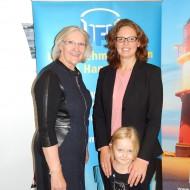 mit Heidi Kluth, Bundesvorsitzende der Unternehmerfrauen im Handwerk e. V.