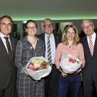 v.l.n.r.: Jürgen Schäfer, Yvonne Simon, Claus Munkwitz, Dr. Antje von Dewitz, Prof. Dr. Werner Rössle