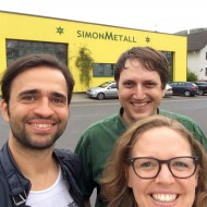 Hannes Kreuziger zu Besuch bei SIMONMETALL 2015