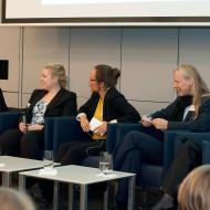 Yvonne Simon diskutiert beim 14. Unternehmerinnentag in Frankfurt 2015