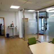 Hier ein Blick in das Projektleiterbüro.