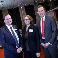 v.l.n.r.: Dr. Prager (ZWH), Yvonne Simon, Dr. Lehmann (ZDF) - Quelle: Kathrin Jegen / ZWH