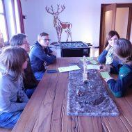 Die Planung zieht sich zur Gruppenarbeit zurück.