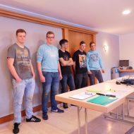 Gruppe der Lehrlinge