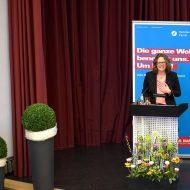Yvonne Simon hält den Festvortrag zur Ehrung der Besten 2017