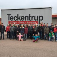 Betriebsführung bei Teckentrup