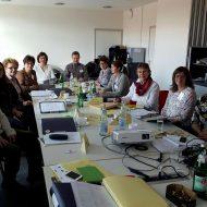 Die Ausbildungsgruppe zum Pflegeguide.